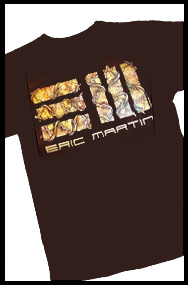 ERIC MARTIN (official t-shirt)